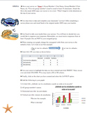 Realidades 1 Tema 4A Project, Excel Data Collection and Presentation
