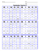 Realidades 1 capítulo 1 Bingo
