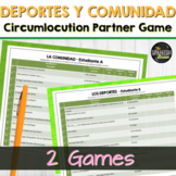 Spanish 1 (Realidades 4A 4B) Bundle: vocabulary practice circumlocution game