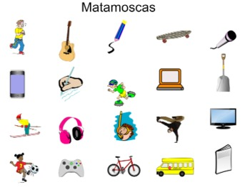 Realidades 1A Smartboard Vocab and Activities
