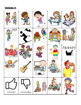 Realidades 1A Teacher vs. Student Vocabulary Game