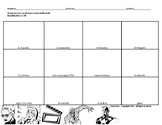 Spanish Afterschool Activities Comic Strip Activity (Realidades 2, 1B)
