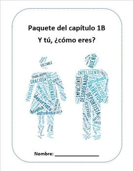 Realidades 1B Packet for Practice and Review (Spanish 1)