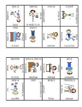 Realidades 1 Capitulos 1a-5a Verbs