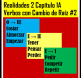 Realidades 2, 1A Common Stem-Changing Verbs Practice 2