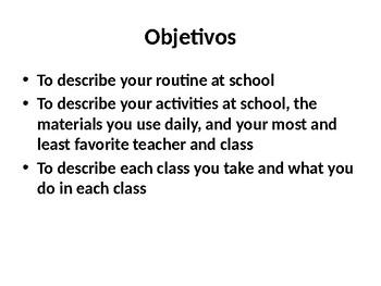 Realidades 2: 1A ¿Qué haces en la escuela?