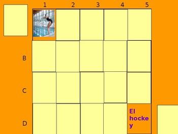 Realidades 2 1B Vocabulary Matching Game #2