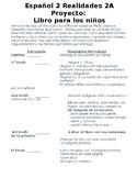 Realidades 2 2A Libro de los Niños Proyecto