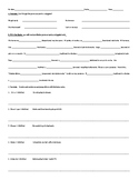 Reflexive Verbs Practice Worksheet, Quiz, Test