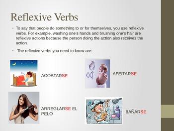 Realidades 2 - 2A (Vocabulary and Grammar / Reflexive Verbs)