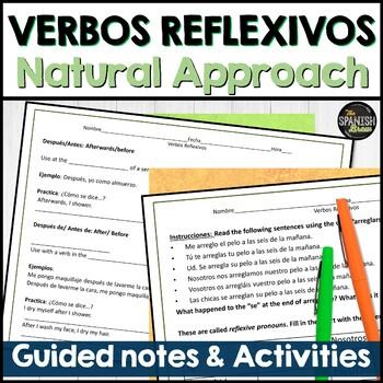 Realidades Spanish 2 2A intro to grammar- Reflexive Verbs- natural approach