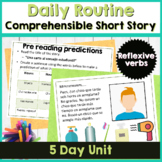 Spanish 2 short story using reflexive verbs