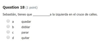 Realidades 2 3B Vocab Quiz for Schoology (Instructions in Preview)