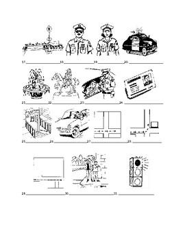 Realidades 2 3B Vocabulary Identification Practice/Quiz