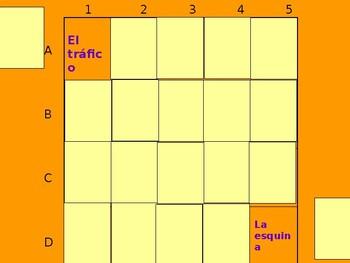 Realidades 2 3B Vocabulary Matching Game
