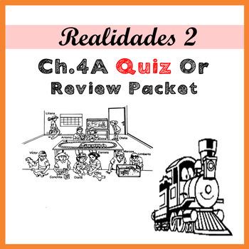 Realidades 2 4A Exam or Review Packet