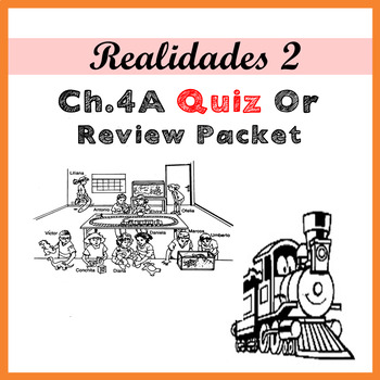 Realidades 2 4A Exam or Review Packet