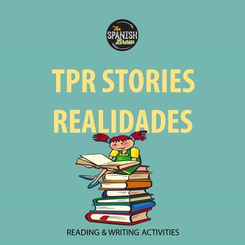 Realidades 2 4A 4B Bundle: TPR story reading comprehension