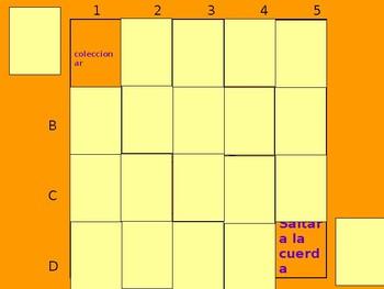 Realidades 2 4A Vocabulary Matching Game #2