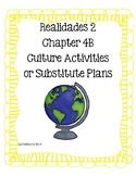 Realidades 2 4B Cultural Activities- Read and Respond