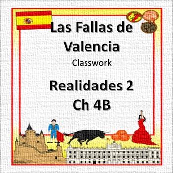 Realidades 2 4B Culture - Las fallas