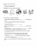 Realidades 2 4B Vocabulary  Quiz