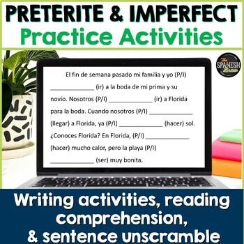 Realidades Spanish 2 4B preterite vs. imperfect practice