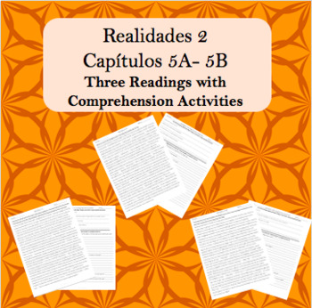 Realidades 2 Capítulos 5A-5B Readings and Comprehension ...