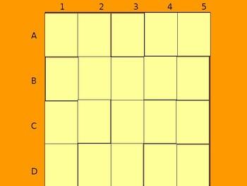Realidades 2 5A Vocabulary Matching Game