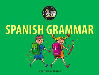 Realidades Spanish 2 5B Imperfect progressive + preterite sentence translations