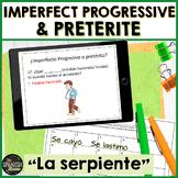 Realidades 2 5B review game imperfect progressive, irregular preterite, accident