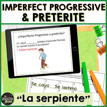 Realidades 2 5B review: game El Serpiente
