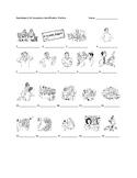 Realidades 2 6A Vocabulary Identification Practice/Quiz