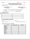 Realidades 2 6B Present Perfect Introduction and Practice Worksheet