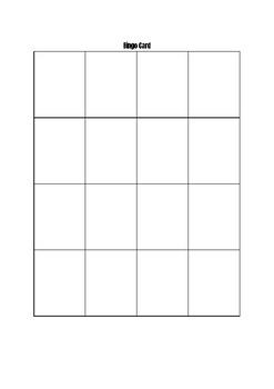 Realidades 2 Capítulo 1A Bingo review activity
