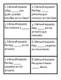 Realidades 2 Chapter 1AB - Affirmative and Negative Words