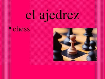 Realidades 2 Chapter 1B Vocabulary PowerPoint