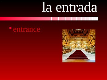 Realidades 2 Chapter 2B Vocabulary PowerPoint
