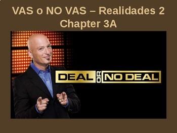 Realidades 2 - Chapter 3A Vas o No Vas (Deal or No Deal)
