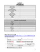 Realidades 2 Chapter 3A Vocabulary and Grammar Study Guide