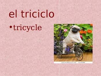 Realidades 2 Chapter 4A Vocabulary PowerPoint