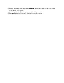 Realidades 2, Chapter 5A. Vocabulary # 1. Quiz / Activity