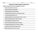 Realidades 2 Chapter 5B - imperfect progressive and irregular preterite activity