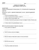 Realidades 2 Chapter Para Empezar Grammar Test/Quiz