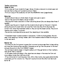 Realidades 2 Cuanto Cuesta game Chapter 2B