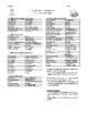 Realidades 2 Vocabulary List Chapter 4B