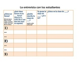 Realidades 2A: Class Schedule Interviews