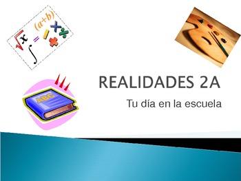Realidades 2A Part I - Vocabulary