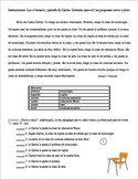 Realidades 2A Practice Reading Paragraph