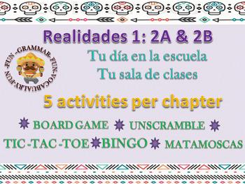 Realidades 2A & 2B Bundle Activities